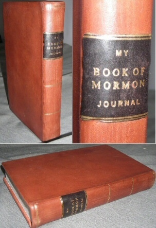 My Book of Mormon Journal - Leather Brand NEW!, Smith, Joseph (editor)