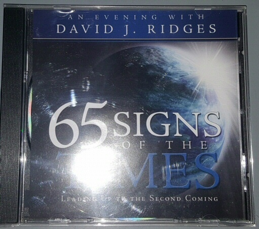 65 Signs of the Times - Leading Up to the Second Coming, Ridges, David