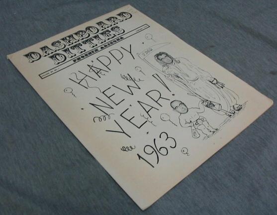 Dashboard Ditties - Happy New Year! - Vol 8 No 1 Phoenix Arizona