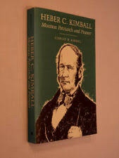 Image for HEBER C. KIMBALL -   Mormon Patriarch and Pioneer