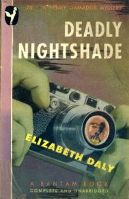 Deadly Nightshade, Daly, Elizabeth
