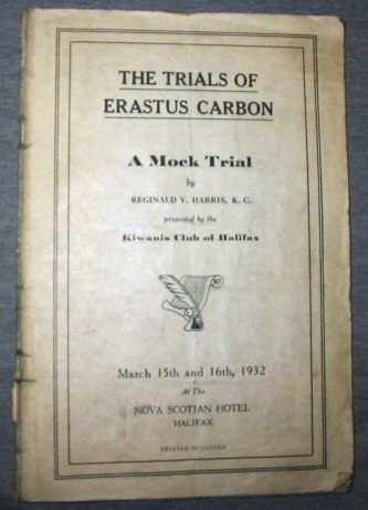Image for The Trials of Erastus Carbon -  A Mock Trial