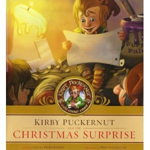 Kirby Puckernut and the Christmas Surprise, Richardson, Alicia; Seegmiller, Don