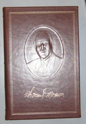 PATHWAYS TO PERFECTION LEATHER EMPLOYEE GIFT BOOK by Thomas S. Monson LDS MORMON  Discourses of Thomas S. Monson, Monson, Thomas S.