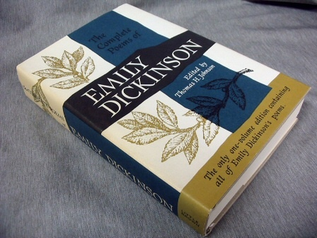 THE COMPLETE POEMS OF EMILY DICKINSON., DICKINSON, Emily.