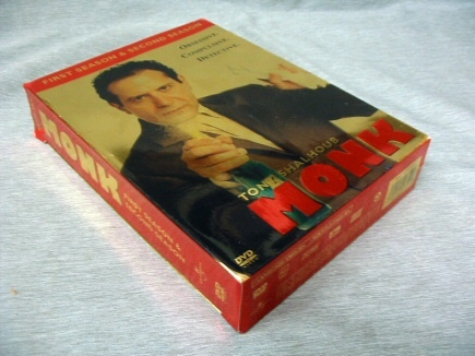 Monk - The Complete First Season and Second Season