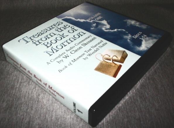 Treasures from the Book of Mormon - Volume 1 - Audio CD, Skousen, W. Cleon