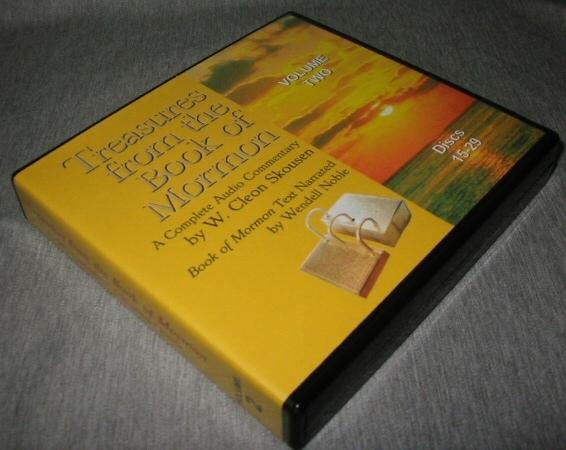 Treasures from the Book of Mormon - Volume 2 - Audio CD, Skousen, W. Cleon