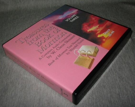 Treasures from the Book of Mormon - Volume 3 - Audio CD, Skousen, W. Cleon