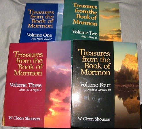 Treasures from the Book of Mormon - Volume 1 to 4 -, Skousen, W. Cleon