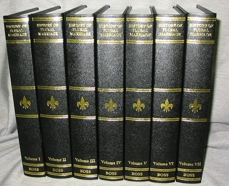 Image for The History of Plural Marriage Among the Mormon People Volume 7 only