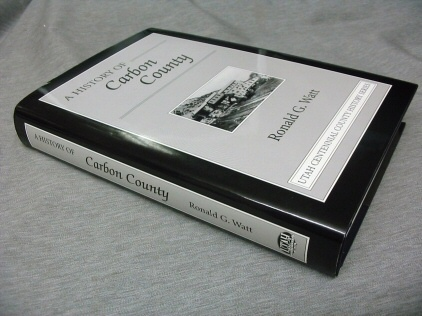 A History of Carbon County, Watt, Ronald G.