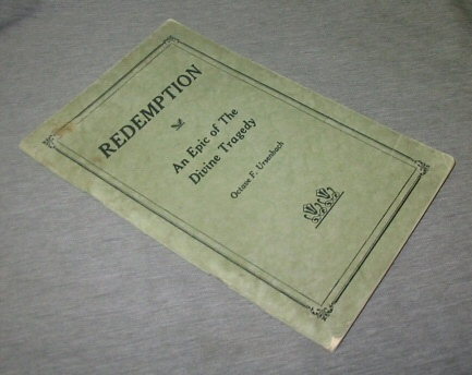 Redemption -  An Epic of the Divine Tragedy, Ursenbach, Octave F.