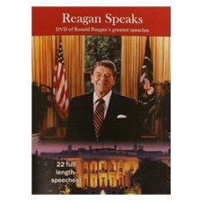Image for Reagan Speaks -  DVD of Ronald Reagan's Greatest Speeches