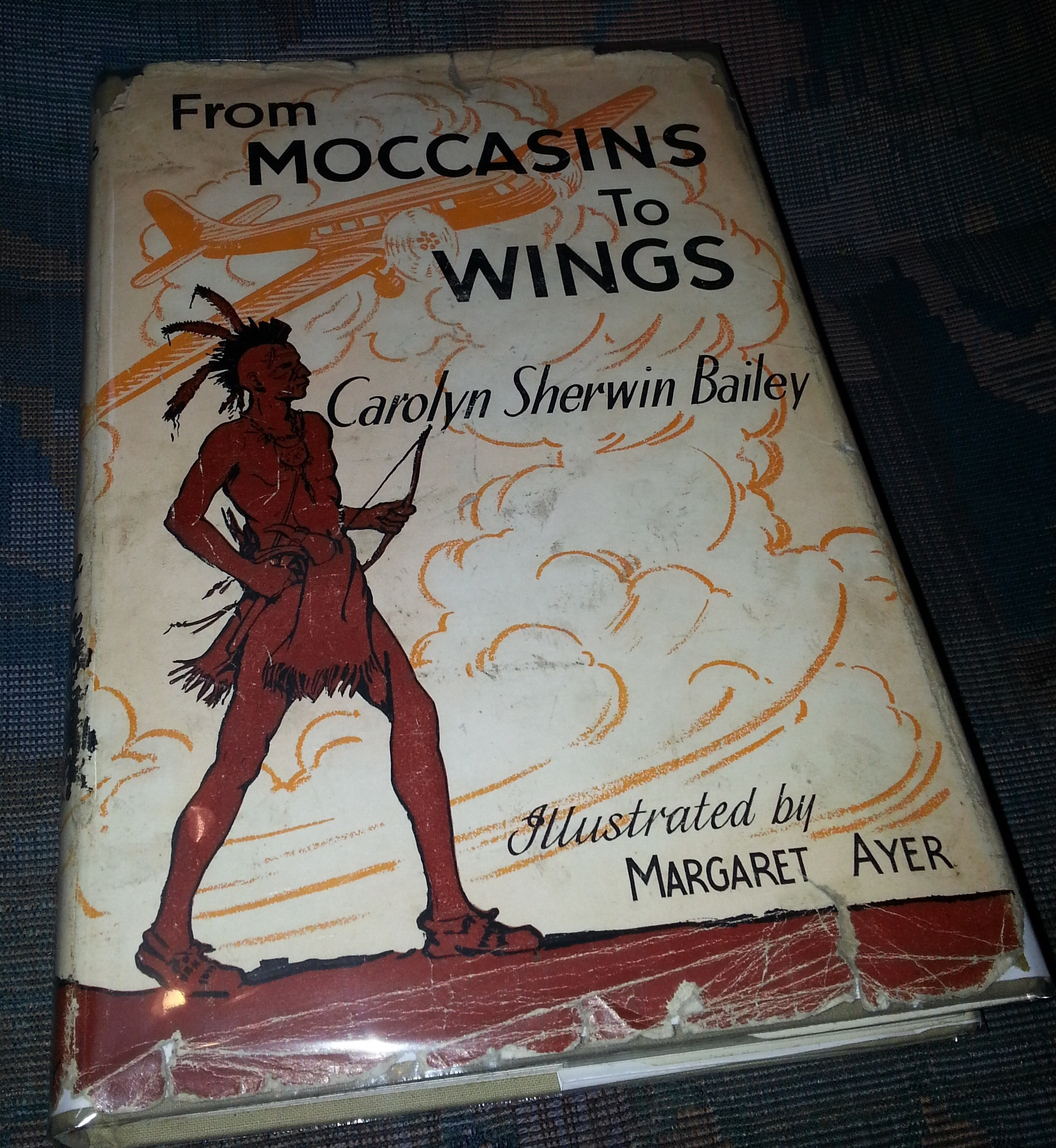 From Moccasins to Wings;  Stories of Our Travel Ways, Bailey, Carolyn Sherwin