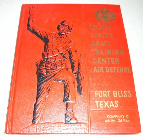 United States Army Training Center Air Defense Fort Bliss, Texas Company D 4th Battalion, 3rd Brigade