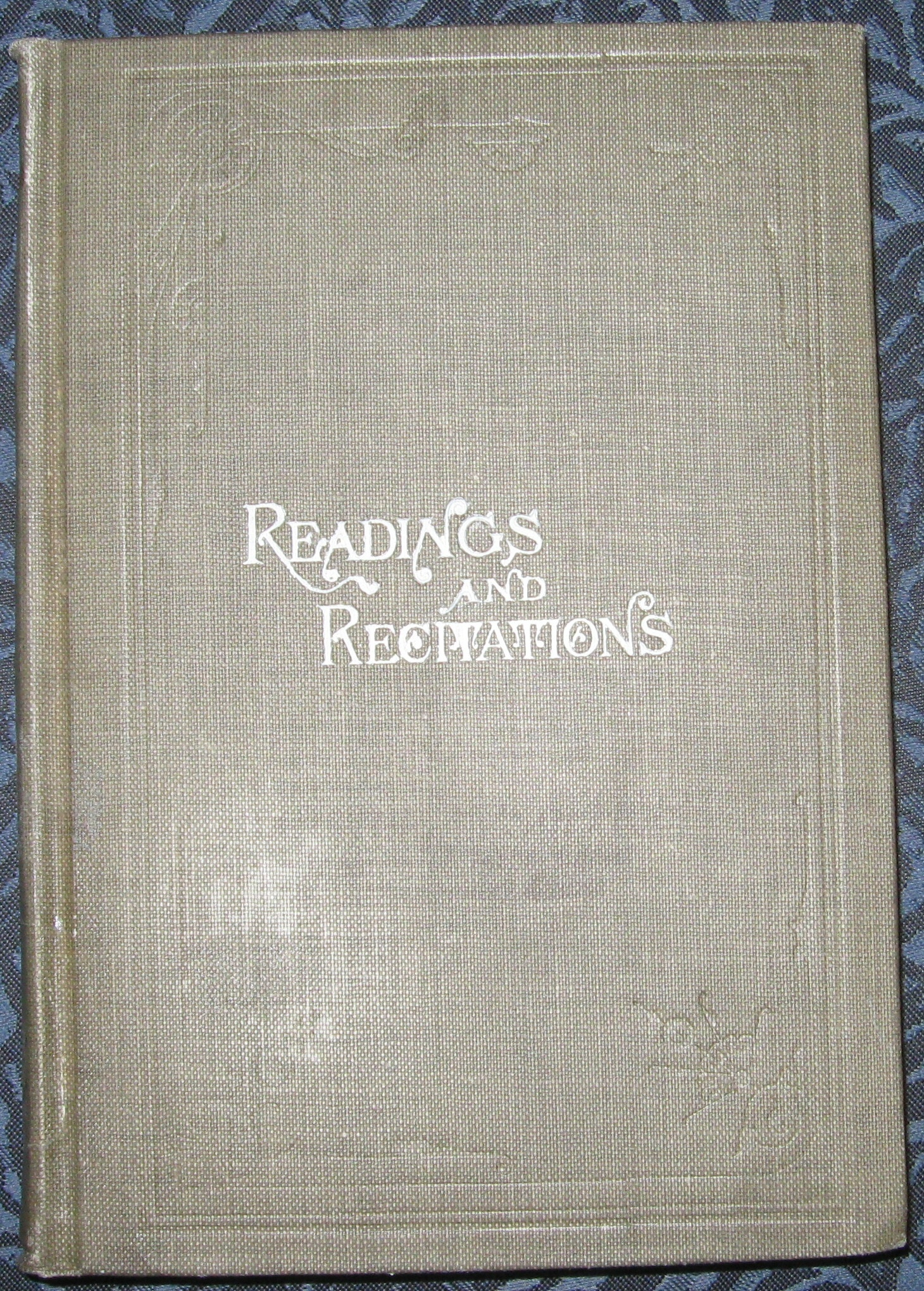 Choice readings and recitations  Selected and arranged, Paul, J. H