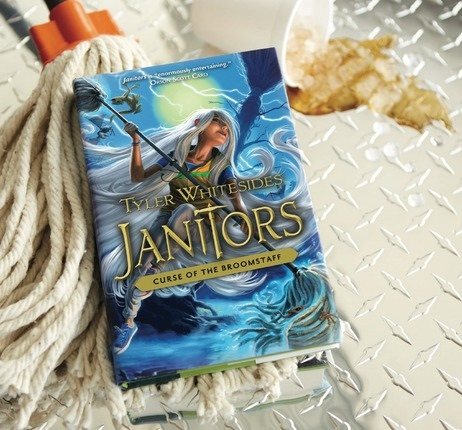 Janitors, Book 3  Curse of the Broomstaff, Whitesides, Tyler