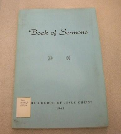 BOOK OF SERMONS