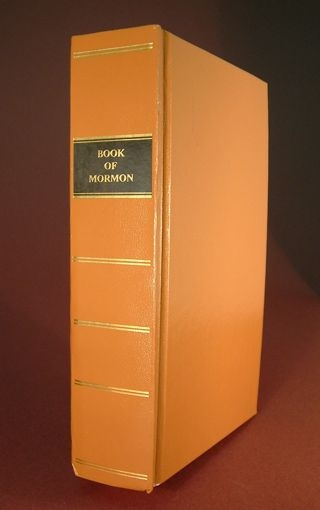 REPLICA OF 1830 1ST EDITION BOOK OF MORMON - Brand NEW!, Smith, Joseph editor