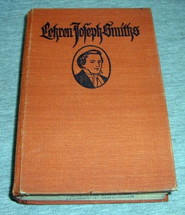 Lehren Joseph Smiths [Teachings of Joseph Smith] -  German, Parry, Edwin F. (compiler)