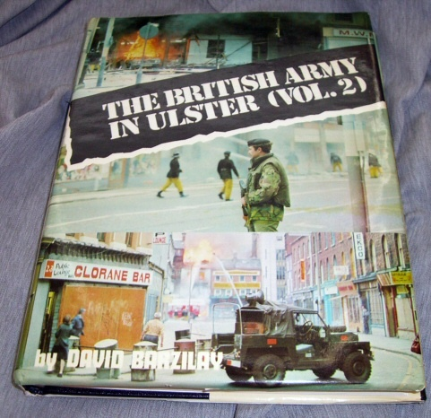 Image for THE BRITISH ARMY IN ULSTER VOLUME TWO (2)