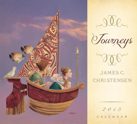 Journeys 2015 Calendar, Christensen, James C.