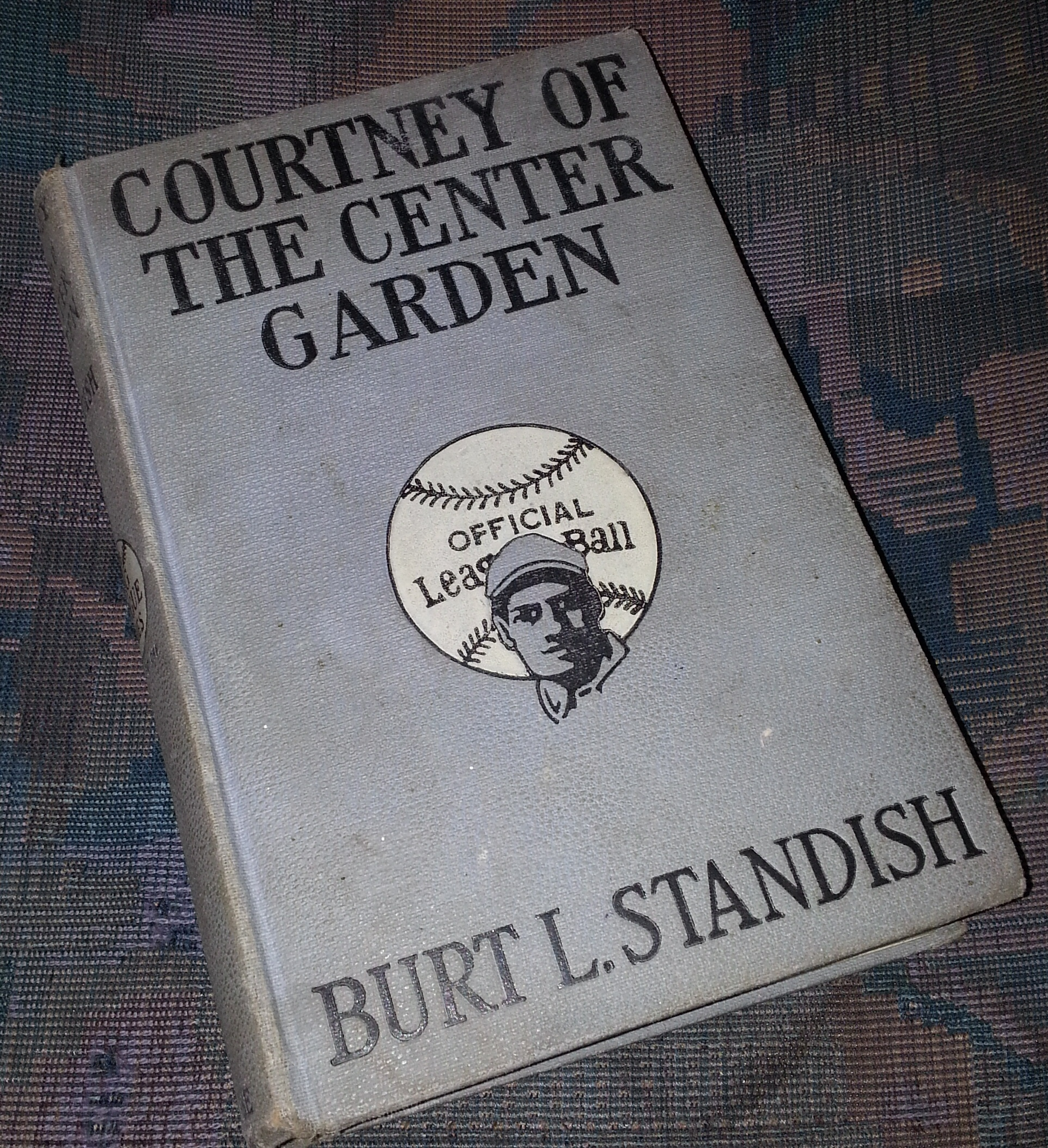 Courtney Center Garden (Big League Series #7 ), Standish, Burt L.
