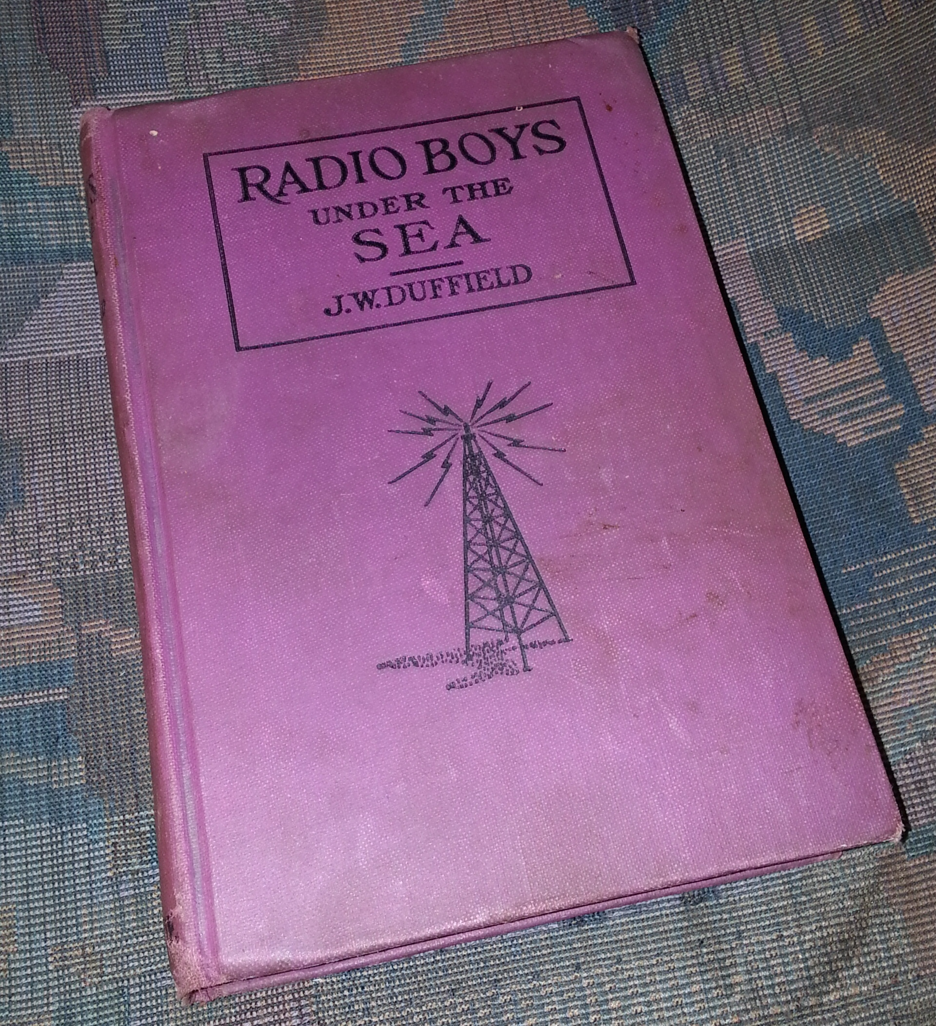 The Radio Boys Under the Sea, Duffield, J. W.