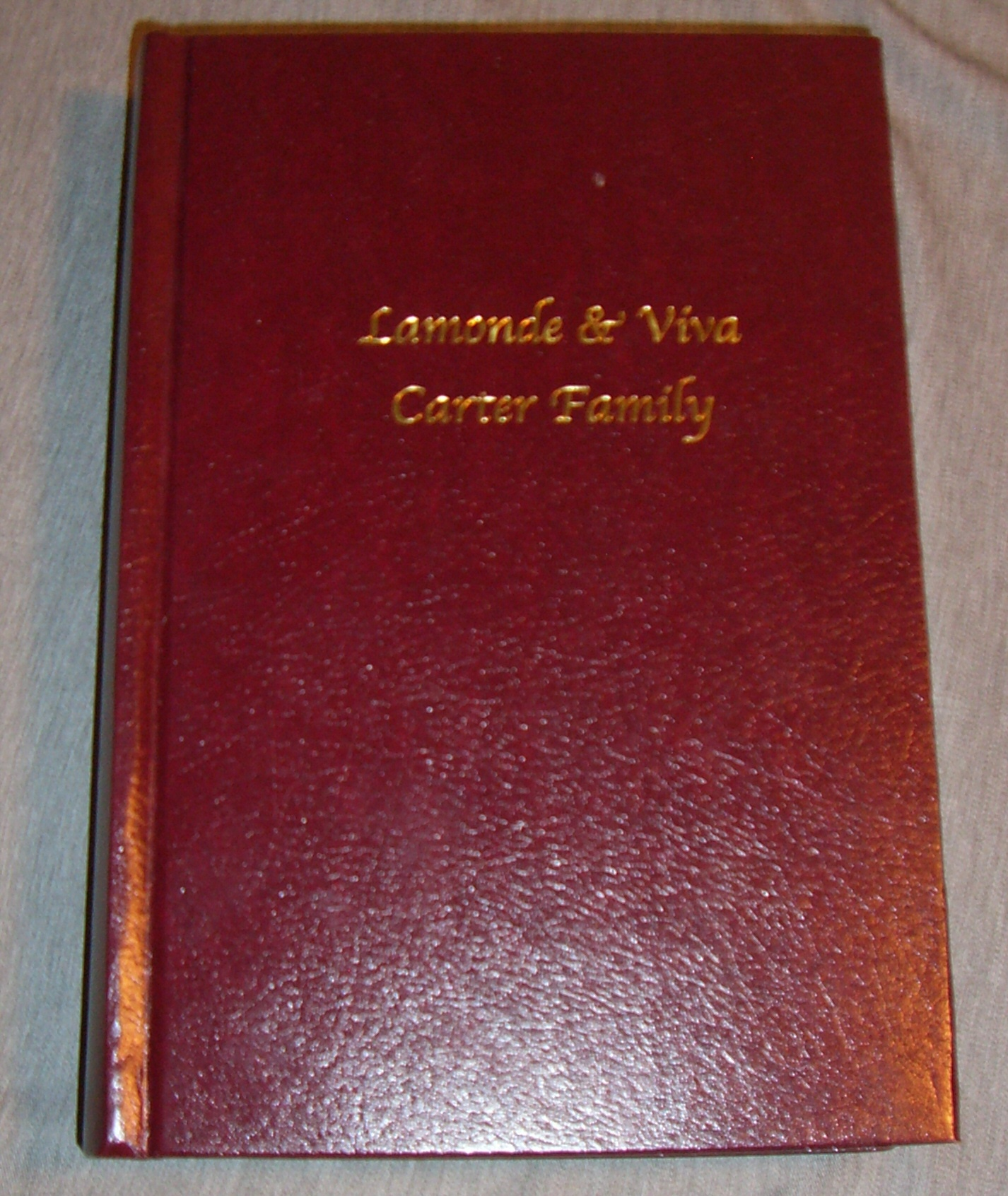 Lamonde & Viva Carter Family
