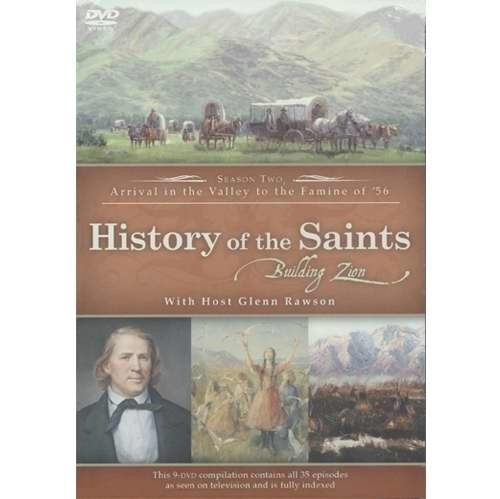 Image for History of the Saints - Building Zion Season Two DVD: Building Zion (DVD)