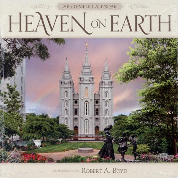 "Heaven on Earth 2015 Calendar 12"" x 12"", Boyd, Robert A."