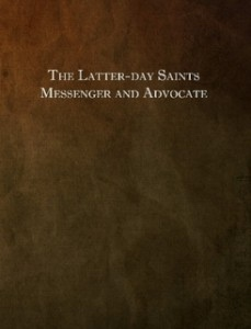 The Latter-day Saints Messenger and Advocate