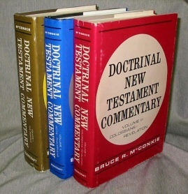 Doctrinal New Testament Commentary - 3 Volume Set -  Complete 3 Volume Set, McConkie, Bruce R.