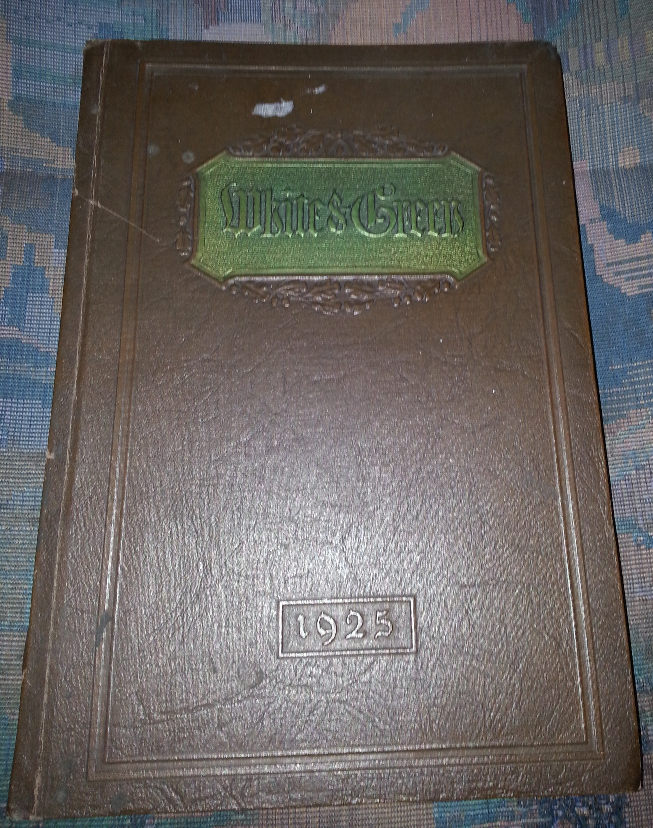 THE White and Green - Provo (Utah) High School Yearbook 1925