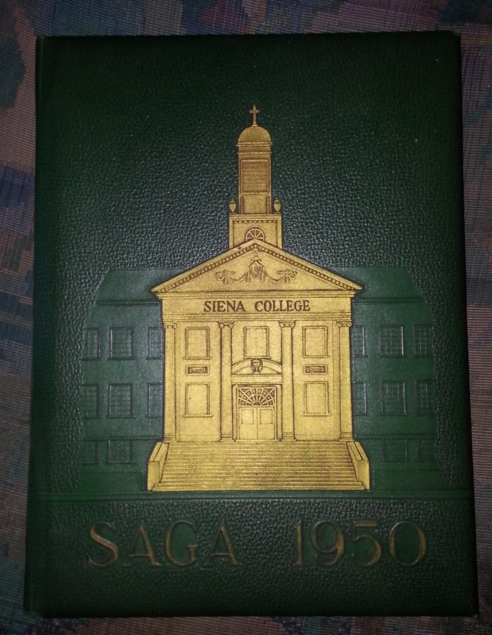 Saga - 1950 - Yearbook, Siena College - (Loudonville, New York)