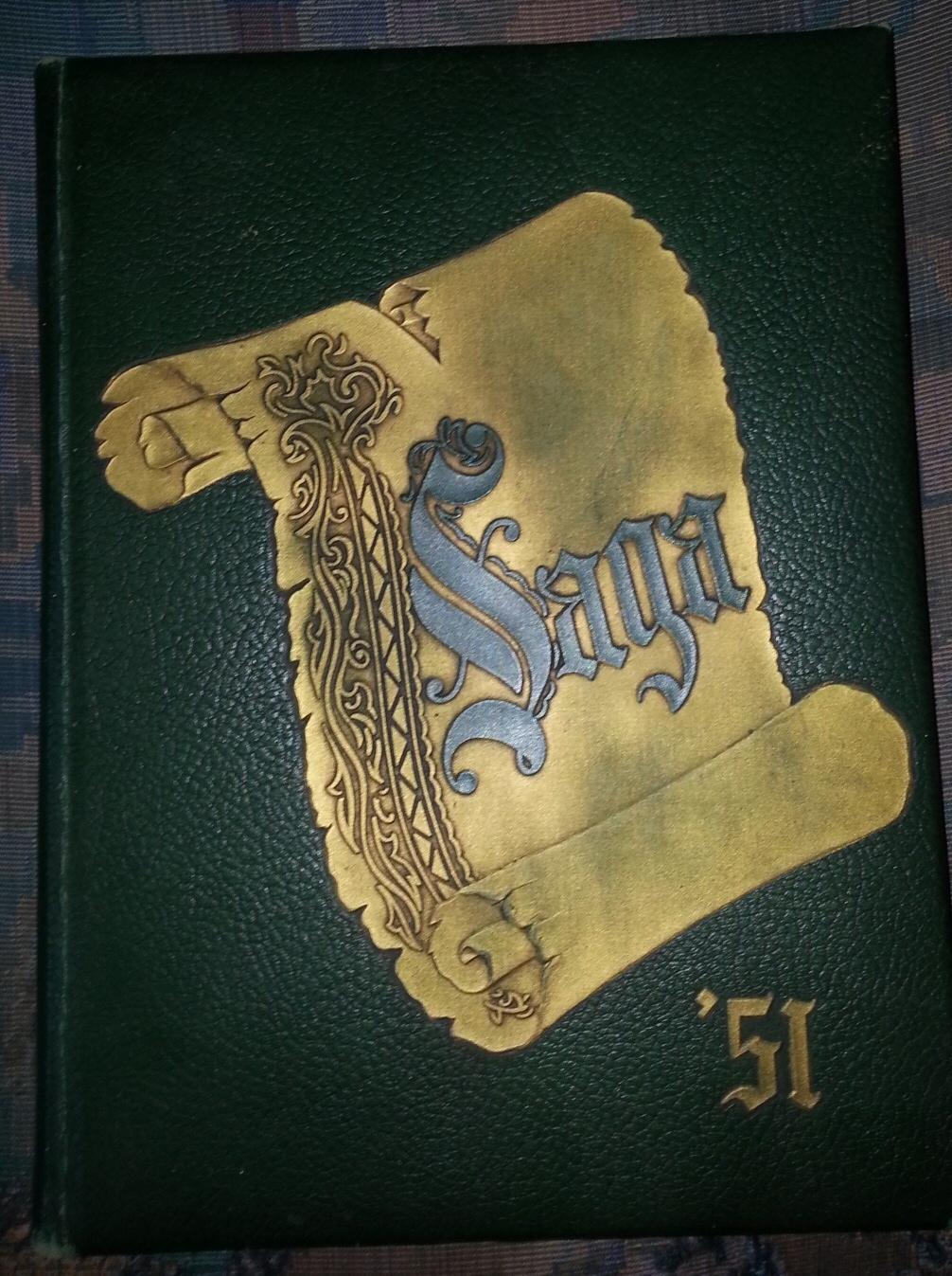 Saga - 1951 - Yearbook, Siena College - (Loudonville, New York)