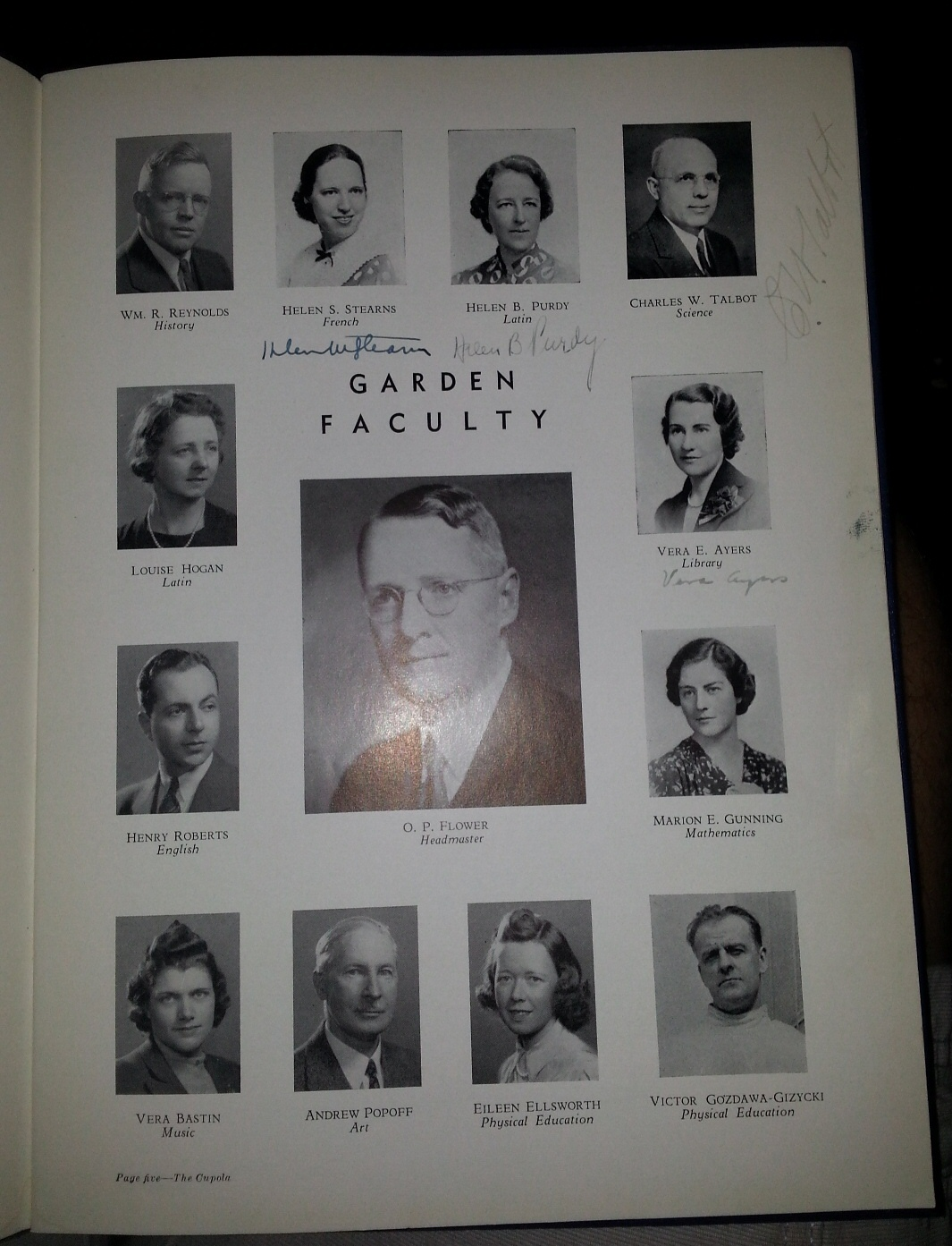 The Cupola - 1941 - Yearbook, Garden Country Day (High) School - (Jackson Heights, New York)