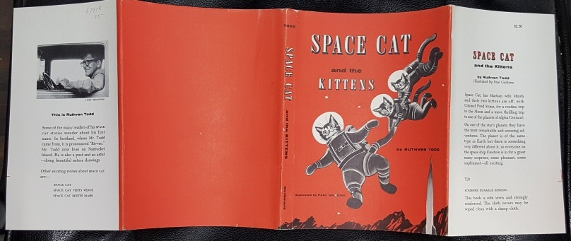 Space cat and the kittens (Dust Jacket Only), Todd, Ruthven