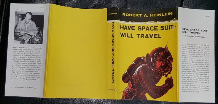 Have Space Suit-Will Travel (Dust Jacket Only), Heinlein, Robert A
