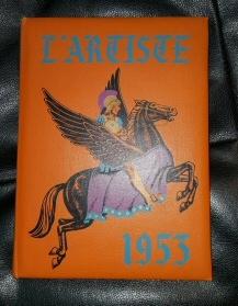 L'ARTISTE 1953  - SPRINGVILLE, UTAH HIGHSCHOOL YEARBOOK