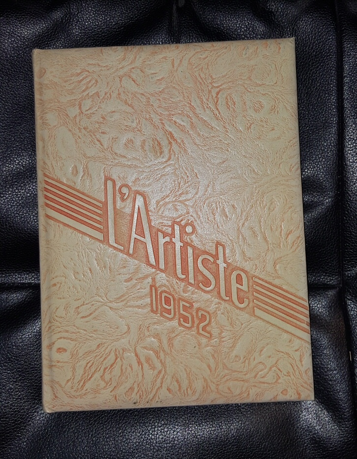 L'ARTISTE 1952  - SPRINGVILLE, UTAH HIGHSCHOOL YEARBOOK