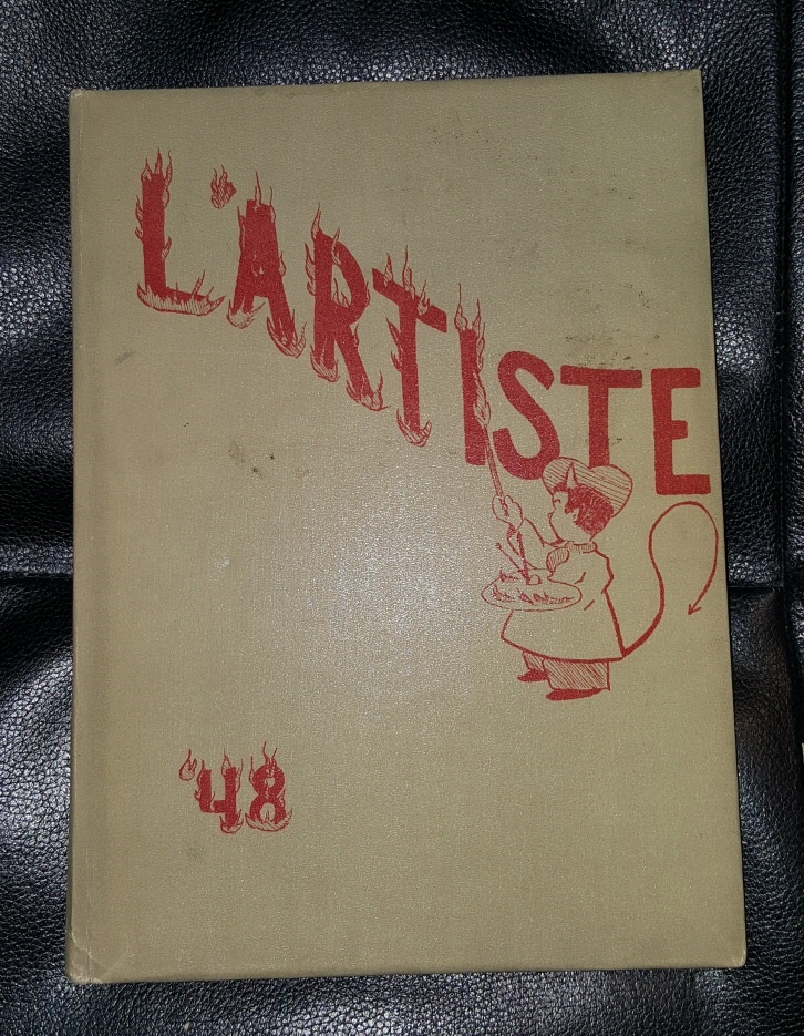 L'ARTISTE 1948  - SPRINGVILLE, UTAH HIGHSCHOOL YEARBOOK