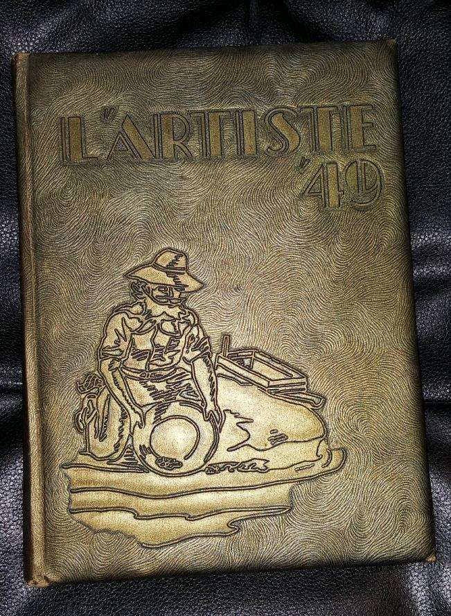 L'ARTISTE 1949  - SPRINGVILLE, UTAH HIGHSCHOOL YEARBOOK