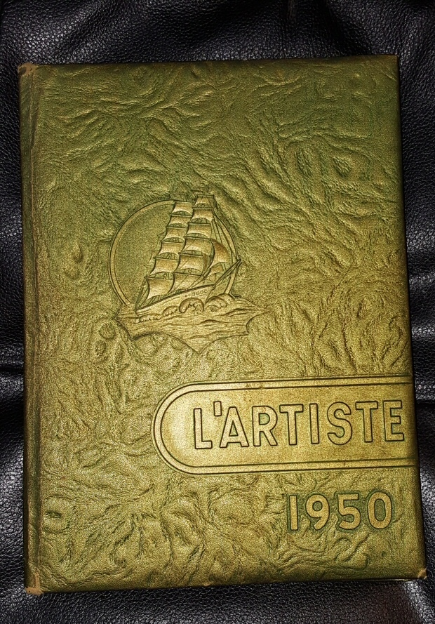 L'ARTISTE 1950  - SPRINGVILLE, UTAH HIGHSCHOOL YEARBOOK