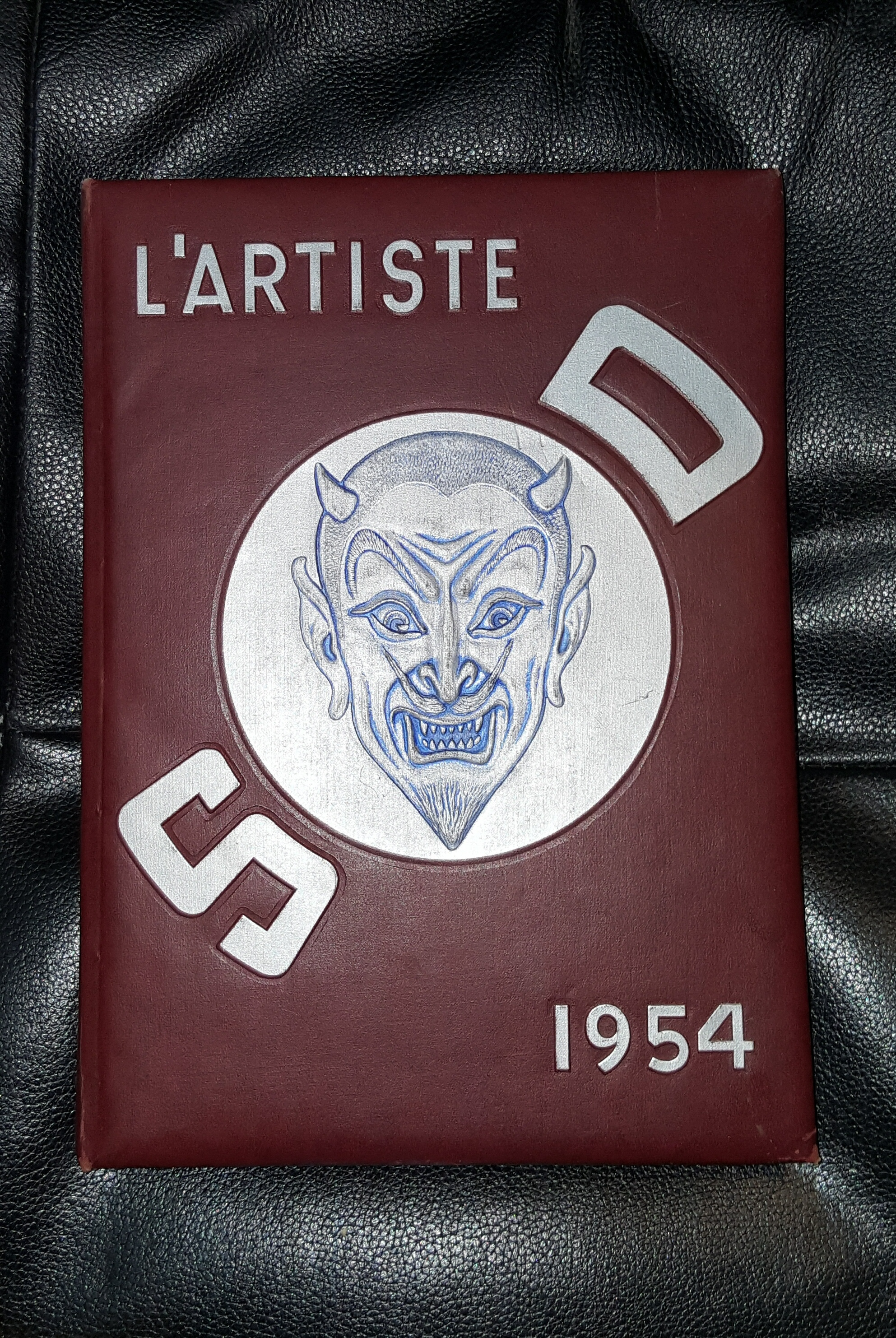 L'ARTISTE 1954  - SPRINGVILLE, UTAH HIGHSCHOOL YEARBOOK