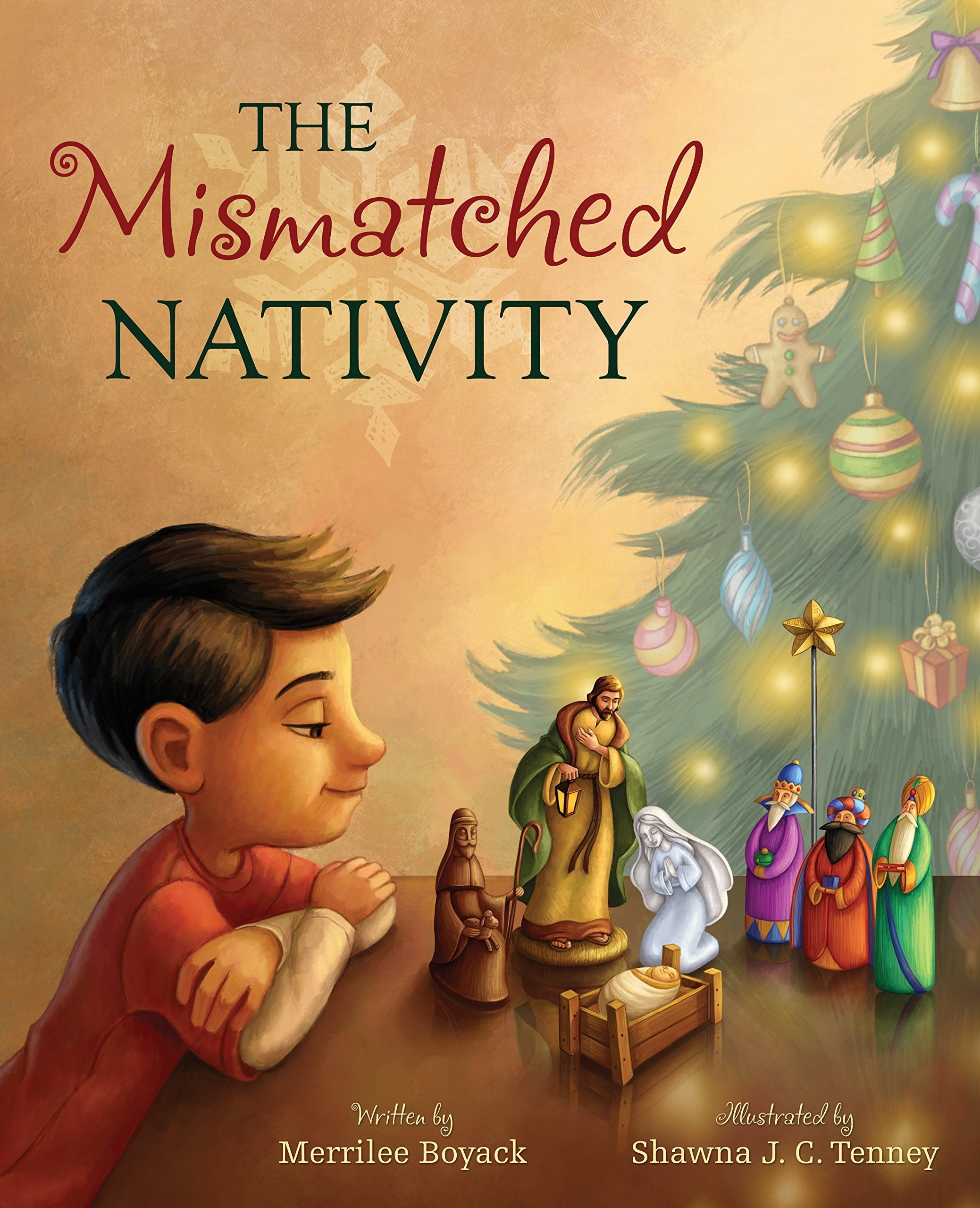 The Mismatched Nativity, Boyack, Merrilee (Author), Shawna J. C. Tenney (Illustrator)