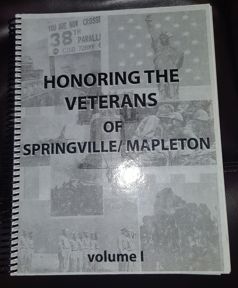 Honoring the Veterans of  Springville / Mapleton [Utah], Miller, Maureen and her Students (Springville High School)