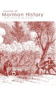 Journal of Mormon History (Winter 2013, Volume 39 No.1)