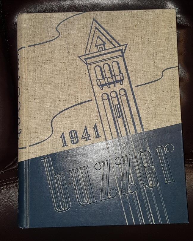 THE Buzzer of 1941 - Utah State - USAC - Logan University